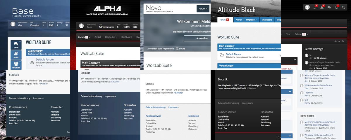 Unsere künftigen Produkte für WoltLab Suite™ 3.0