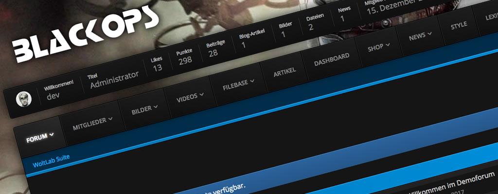 BlackOps für WoltLab Suite 3.0 veröffentlicht
