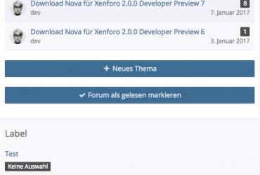 WS 3.x Forum als gelesen markieren - mobil