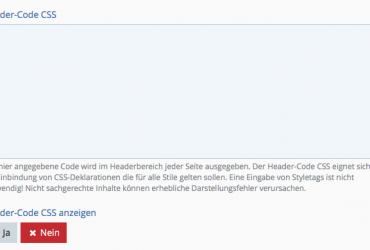 WS 3.0 Headercode