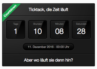 WS 3.x Countdown